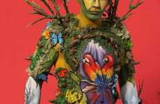 World Body Painting Championship 2009 Included More Men