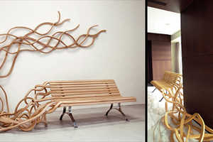 The Noodle-Inspired Seat by Pablo Reinso Seems Never-Ending