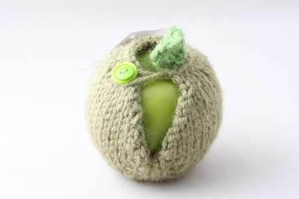 Knit Apple Jackets - Cozy Produce Sweaters Take a (Bizarre) Bite Out of Fashion