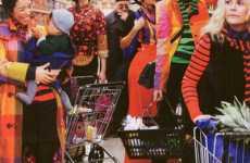 Neon Grocery Fashion