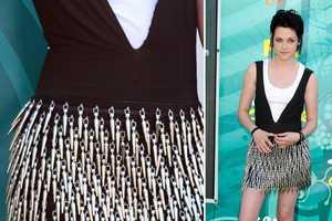 A Sharp Kristen Stewart in Rock & Republic Spike Dress