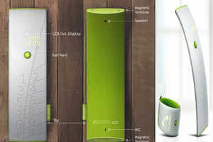 The Leaf Bracelet Mobile Phone Runs on Solar Power, Love