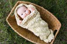 Baby Cocoons  - Woolen Snugglies for Your Bundle of Joy