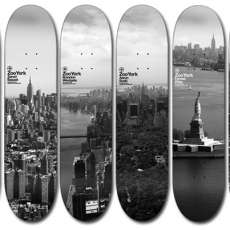 Sky Line Skateboards - ZooYork Decks Represent NYC in 'Sky High' Series