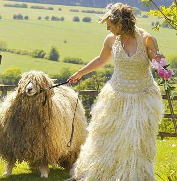 Wool Wedding Dresses
