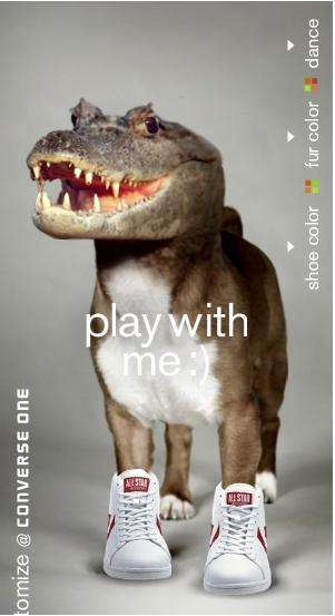 Animal Mash-Up Ads - Converse Alligator Ad Features a Ridiculously Intriguing Dog-Gator