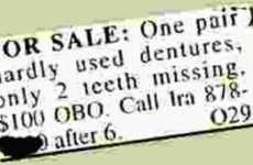 Comical Classified Ads