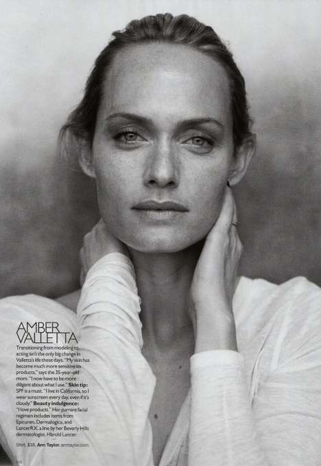 Models without Makeup Shoots - Harper's Bazaar Features 90s Mega Models Cosmetics-Free