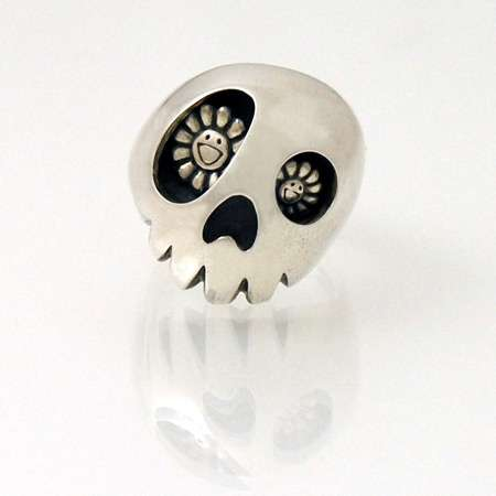 Smiley Skull Rings