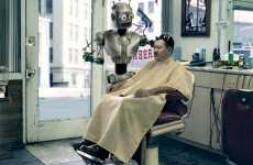 Hairstylist Bots - Markku Lahdesmaki's Robots Bicycle, Get Drunk & Juggle