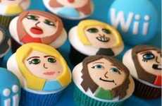 Gamer Cupcakes - Mii Cupcakes are Perfect for Wii Parties