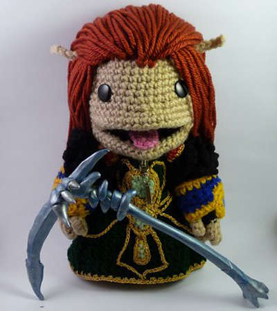 Knitted Gamer Creatures
