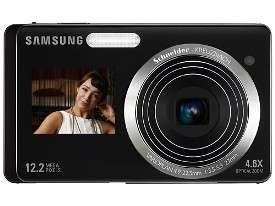 Self-Portrait Cameras - Samsung ST500 & ST550's Front Screen Makes Self-Shots Simple