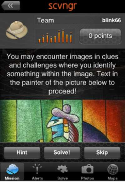 Scavenger Hunt Apps - SCVNGR Lets You Make DIY Interactive Games for Any Mobile Phone