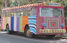 'Knitta Please' Uses Yarn to Decorate Abandoned Bus