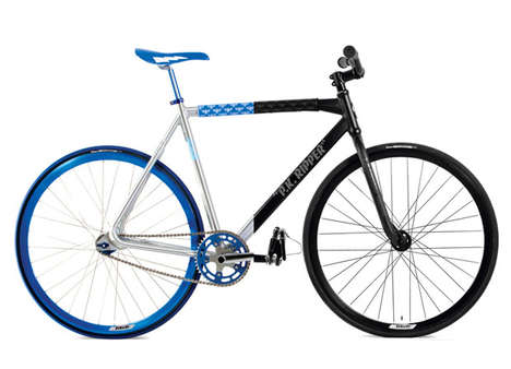 Hybrid Colored Bicycles