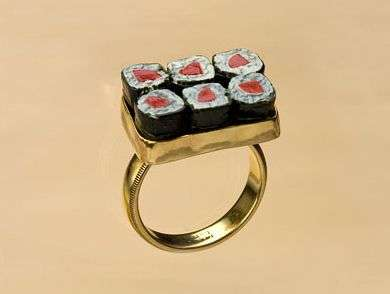 Bento Box Bling - Carolyn Tille Creates Sushi Jewelry for Japanese Food Addicts