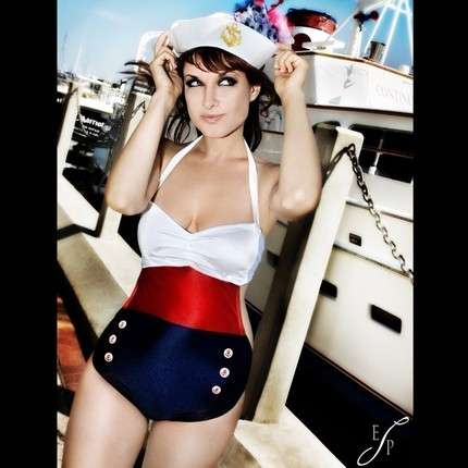 Sailor Swimsuits - Vintage-Inspired Modern Bathing Suits & Bikinis by FablesbyBarrie