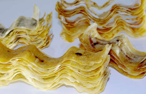 Epicurean Potato Chips - Luxirare Creates Crisps with Prosciutto, Vanilla & Cilantro