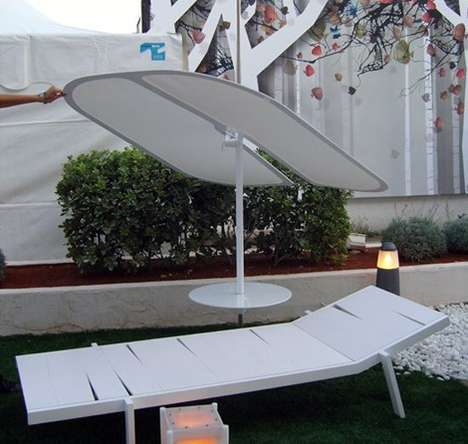 Flat Patio Umbrellas