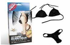 Water-Soluble Bikinis
