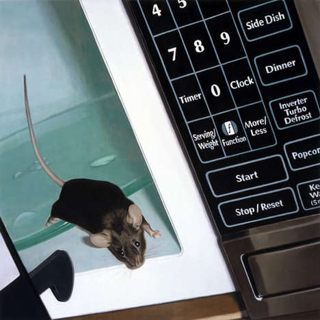 Realistic Rat Art