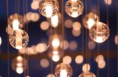 Glowing Bubble Lights - Omer Arbel Office Creates Elegant Hanging Lightbulbs