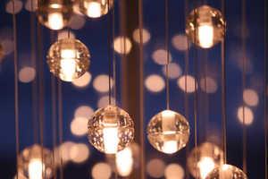 Omer Arbel Office Creates Elegant Hanging Lightbulbs