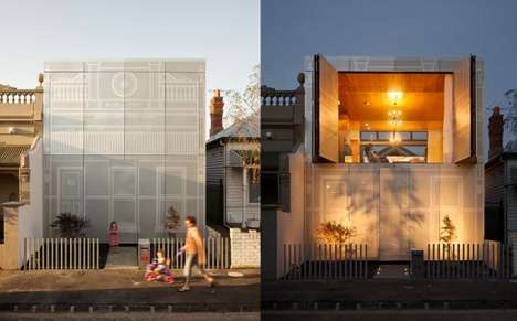 Modernist Faux Victorian Architecture - The Perforated House by Kavellaris Urban Design