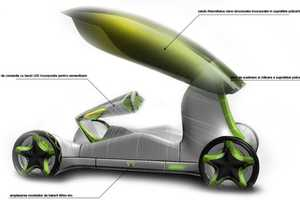 Bionic Concept Car Brings Plants and Technology Together
