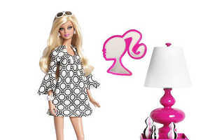 Jonathan Adler Takes it Back to the 60s with Pink Label Collector Barbie