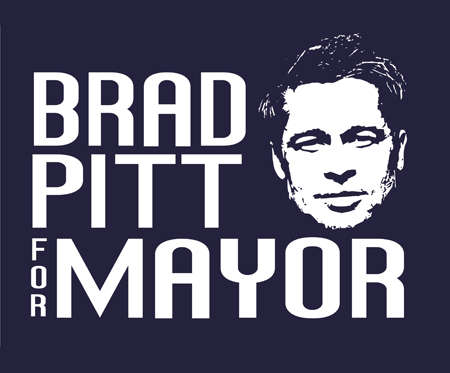 Celebrity Mayor Shirts