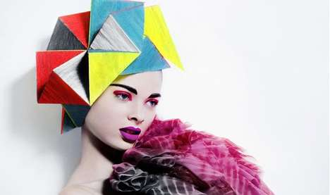Geometric Hairdos - Photographer Billy Kidd Goes Crazy With Edgy Tresses