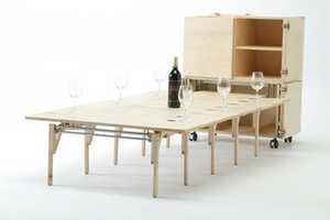 Mobile Dining is Created by Nobuhiro Teshima