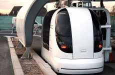 Driverless Transportation - Personal Rapid Transport (PRT) Vehicles at Heathrow Airport