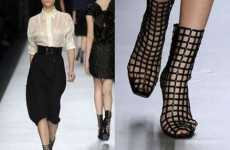 55 Hot Boots - From Wedge Buckle Shoes to Stylish Rubber Boots