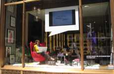 Social Networking Storefronts - Henri Bendell Launches Facebook Page With Live Window Display