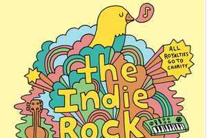 The Indie Rock Coloring Book Pleases Subculture Fanatics