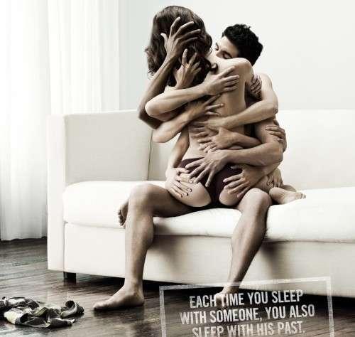 Orgiastic AIDS Awareness Ads