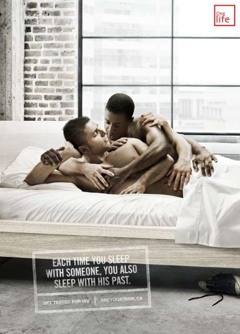 Orgiastic AIDS Awareness Ads