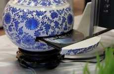 12 Faux Flower Pots