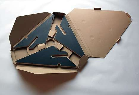 Star-Shaped Coffee Tables - Ben Huggins' Furniture Snaps Together Simply