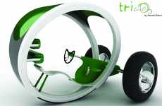 Urban Tricycles - Triclo is Eco-Friendly City Travel for Adults