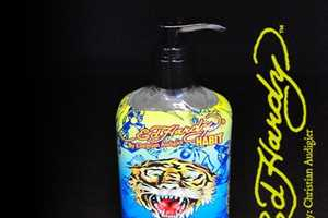 Ed Hardy Wants to Keep You Germ Free and Tacky