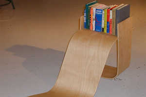 Lapsi Children's Chair Creates a Groovy Comfortable Reading Area
