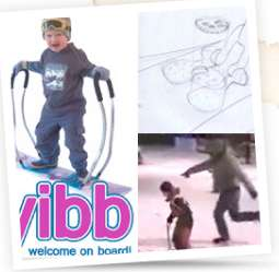 Snowboard Training Wheels