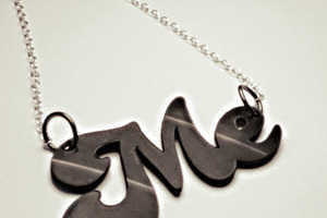 Junkprints' Recycled Vinyl Necklaces Honor Retro Music