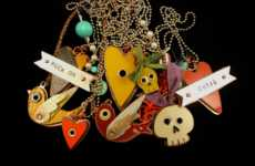 Amuck Reclaimed Road Signage & License Plate Jewelry