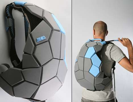 Tortoiseshell Backpacks - Gilad Davidi's 'Meiosis' Pack Channels Teenage Mutant Ni
