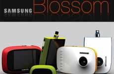 Blooming Cameras - Hyun-mook Kang's 'Blossom' DPS Camera Design is for the Ladies